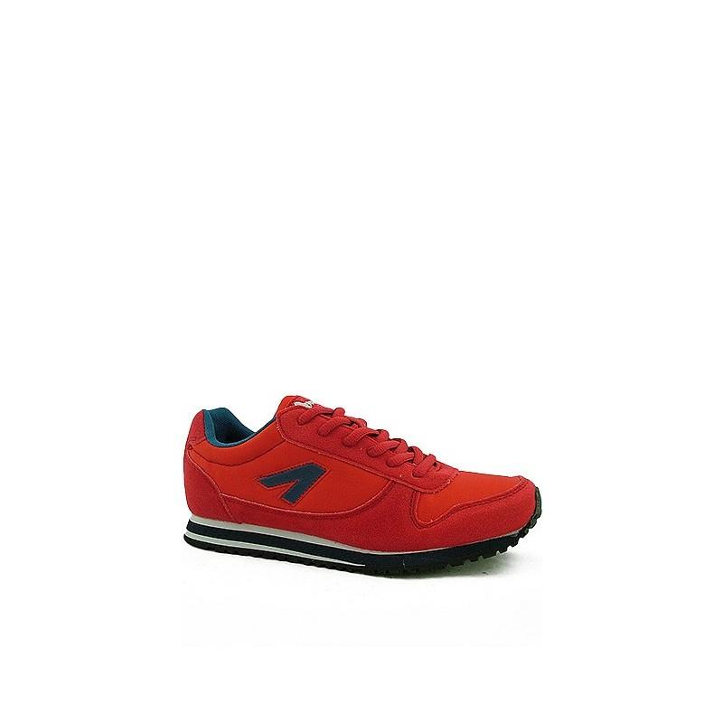 980e7c0b Adidasy damskie młodzieżowe czerwone American Club 33101-A